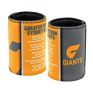 Greater Western Sydney Giants Team Song Can Cooler