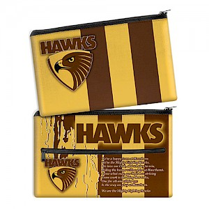 Hawthorn Hawks Song Pencil Case