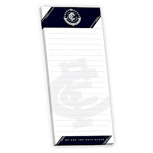 Carlton Blues Magnetic Shopping List
