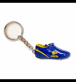 West Coast Eagles Boot Key Ring