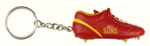 Gold Coast Suns Boot Key Ring