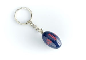 Melbourne Demons Ball Key Ring