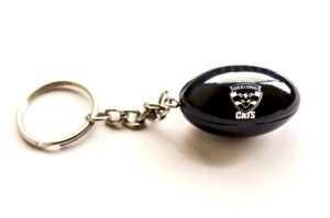 Geelong Cats Ball Key Ring
