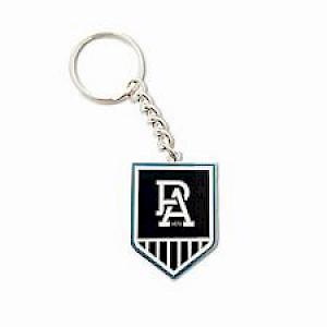 Port Adelaide Power Metal Logo Key Ring