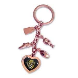 Richmond Tigers Charm Key Ring