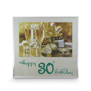 Happy 30th Birthday Frame