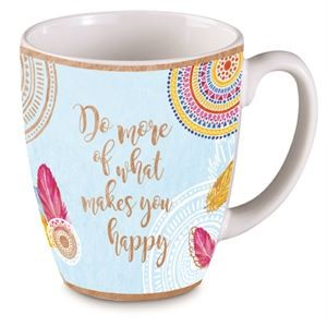 """Good Vibes"" Do more of what makes you...Bullet Mug"