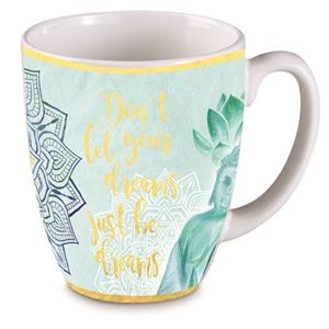 'Good Vibes' Don't let your dreams just be...Bullet Mug