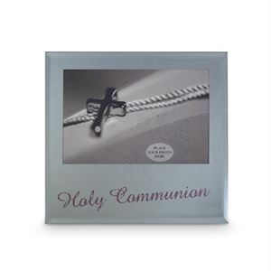 Holy Communion Frame - Pink