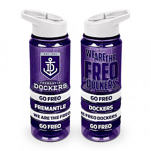 Fremantle Dockers Tritan Bottle with Bands