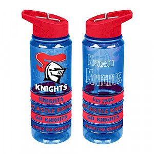 Newcastle Knights Tritan Bottle with Bands
