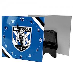 Canterbury-Bankstown Bulldogs Mini Glass Clock