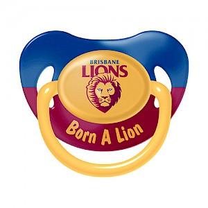 Brisbane Lions Baby Dummy