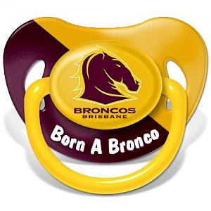 Brisbane Broncos Baby Dummy