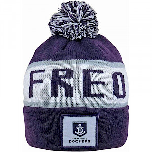 Fremantle Dockers Traditional Bar Beanie