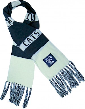 Geelong Cats Traditional Bar Scarf