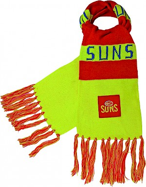 Gold Coast Suns Traditional Bar Scarf