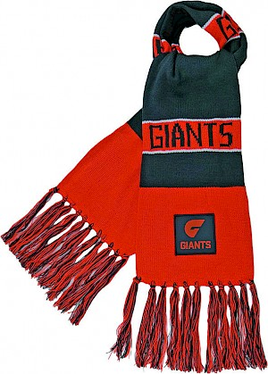 GWS Giants Traditional Bar Scarf