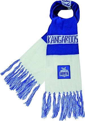 North Melbourne Kangaroos Traditional Bar Scarf