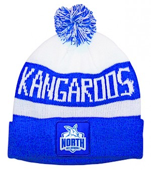 North Melbourne Kangaroos Traditional Bar Beanie