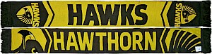 Hawthorn Hawks Cleave Jacquard Scarf