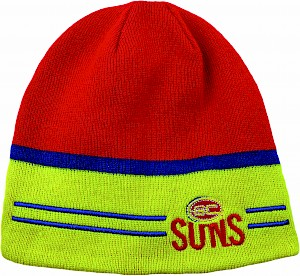 Gold Coast Suns Switch Reversible Beanie