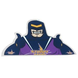 Melbourne Storm Mascot Back Window Decal