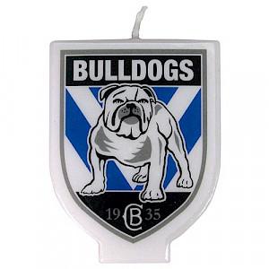 Canterbury Bulldogs Logo Candle