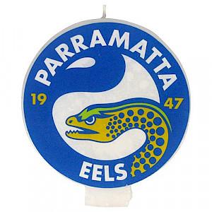 Parramatta Eels Logo Candle