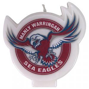 Manly Warringah Sea Eagles Logo Candle