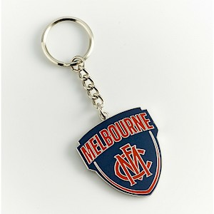 Melbourne Demons Metal Logo Key Ring