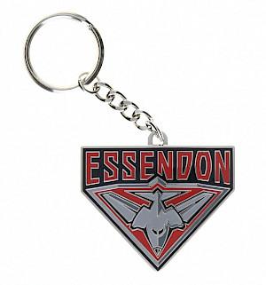 Essendon Bombers Metal Logo Key Ring