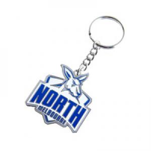North Melbourne Kangaroos Metal Logo Key Ring