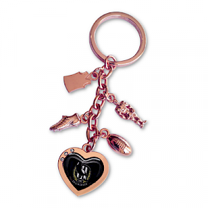 Collingwood Magpies Charm Key Ring