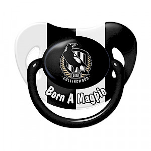 Collingwood Magpies Baby Dummy