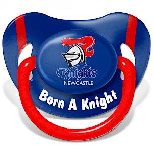 Newcastle Knights Baby Dummy