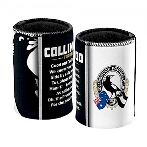 Collingwood Magpies Team Song Can Cooler