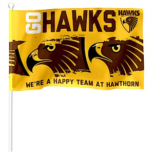 Hawthorn Hawks Small Supporter Flag
