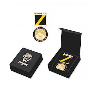 PREORDER Richmond Tigers Premiers Medal w/Ribbon