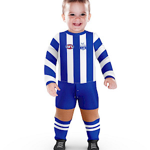 North Melbourne Kangaroos Footysuit - Size 0