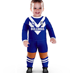 Canterbury Bankstown Bulldogs Footysuit - Size 00