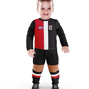 St Kilda Saints Footysuit - Size 000
