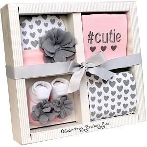 """""""Cutie"""" 4 Piece Baby Gift Set"""