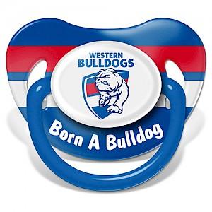 Western Bulldogs Baby Dummy
