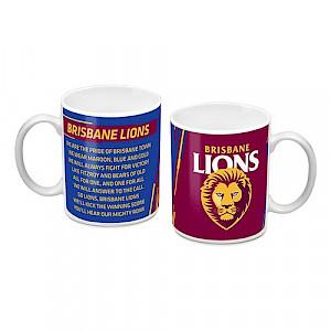 Brisbane Lions Ceramic Mug
