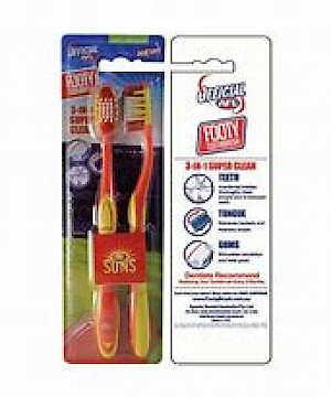 Gold Coast Suns 2 Pack Toothbrush