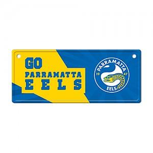Parramatta Eels Tin License Plate Sign
