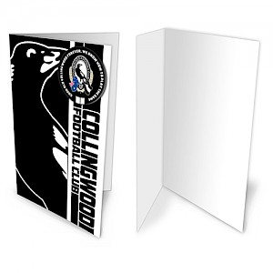 Collingwood Magpies Badge Card