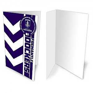 Fremantle Dockers Badge Card