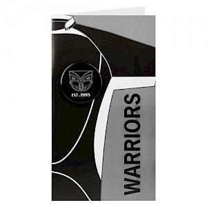 New Zealand Warriors Badge Card